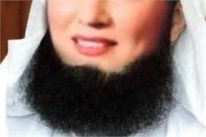 pakistan internet trolls reham khan s beard picture