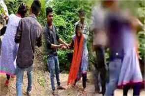 jhansi police report on 6 youths accused of attempting misbehavior