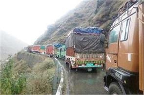 ladakh kashmir highway open for traffic