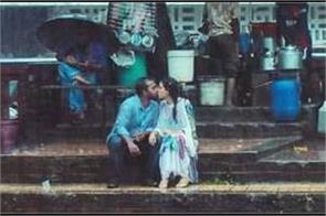 bangladeshi couple kissing in rain pics viral