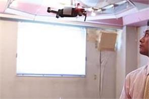japanese firm developing hands free  flying umbrella