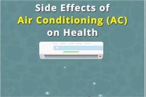 side effects of air conditioning ac on health