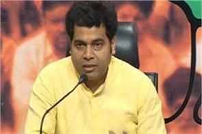 bjp government worked for farmers shrikant sharma