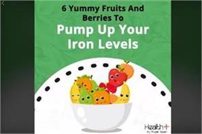 6 yummy fruits and berries to pump up your iron levels