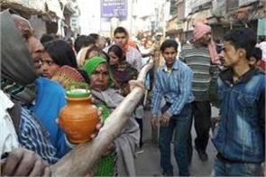 shiva was devastated in varanasi police used light force to calm
