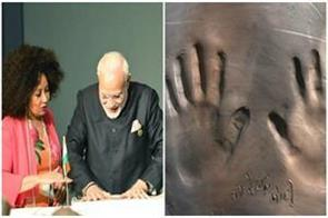 pm modi left his mark on smooth soil in cradle of humancand