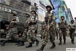 government will recruit 54 000 jawans in central security forces