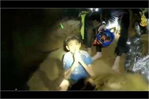 thailand footballers thailand cave rescue operation begunthe diver