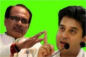 cm shivraj singh attacks on jyotiraditya scindia