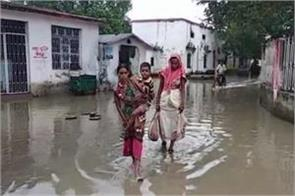 water logging in rohtas hospital