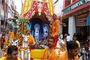 journey of lord jagannath from dhumal in allahabad