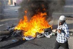 haiti pm quits amid backlash over fuel price protest