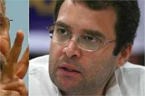 rahul gandhi again targets pm modi and defense minister