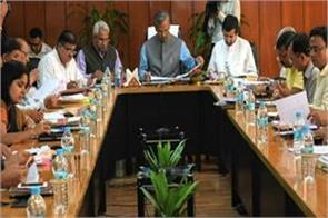 cm holds review meeting of chamoli rudraprayag assembly constituencies