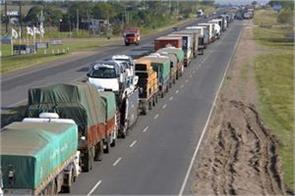 end of truckers  strike a respite to our members siam