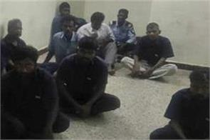 lawyers thrash the 18 accused in court