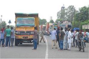 truck operators protest continue