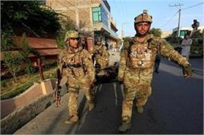 suicide attack in afghan 4 killed including commander of local faction