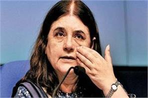 maneka apologizes for asking kinars to be  other  in lok sabha