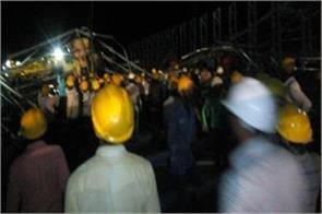 karnataka 6 laborers die due to crane breakdown in cement factory in kalaburgi