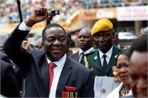 emerson mengagwa re elected president of zimbabwe won