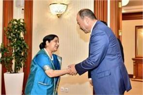 sushma meeting with the prime minister of uzbekistan