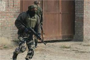 encounter in batmalu between security force and militant