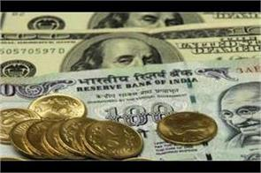 8 paisa fall in rupee open at 70 19