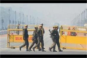 terror alert in the capital tight security in delhi