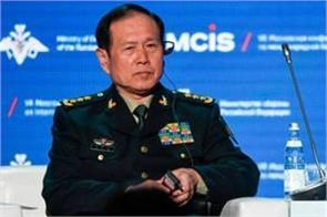 china defense minister for the first time today after the dokalm dispute