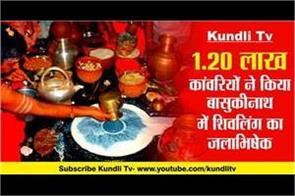 basukinath dhaam shivling jalabhishek