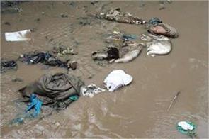 qurbani wastes dumped into dal nigeen lakes