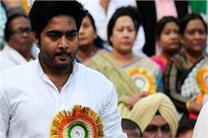 mamta nephew nervous during questioning in lok sabha