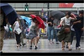 storm jongdari moving towards china