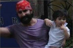 taimur celebrated his independence day with father saif