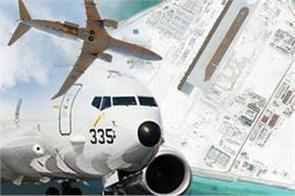 china warns us navy plane  leave immediately