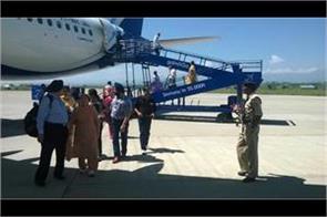 night fights starts soon in srinagar airport