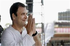 rahul gandhi to start campaigning in rajasthan from august 11