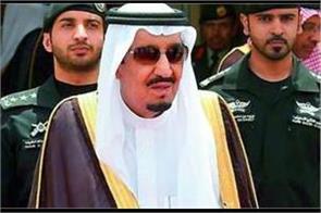 saudi king begins holiday in still unbuilt mega city