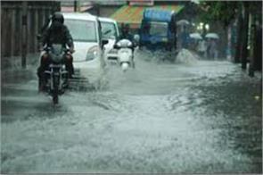heavy rain begins in dehradun
