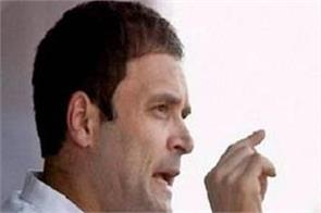 rahul says there is no place for dalits in pm s heart
