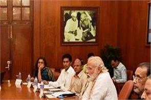 pm modi reviewed development plans