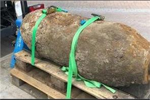 world war ii bomb defused in germany after 18500 evacuated