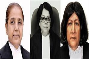 first time 3 lady judges in supreme court