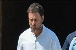 rahul gandhi did not call kejriwal to support in
