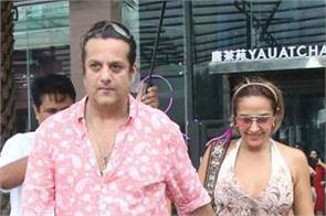 fardeen khan at lunch date with wife natasha madhwani