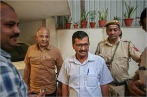 chief secretary case chargesheet filed against kejriwal and sisodia