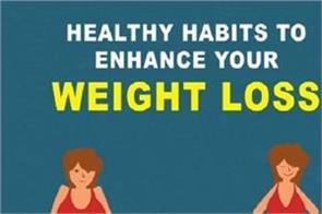 healthy habits to enhance your weight loss