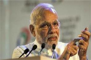 pm modi says take a resolution on social media no negative comments