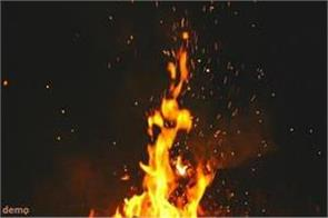 dalit fires up to not sharing gutkha planted fire